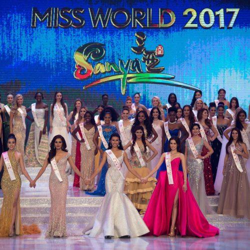 """Kinijoje išrinkta """"Mis pasaulis 2017""""  ©"""