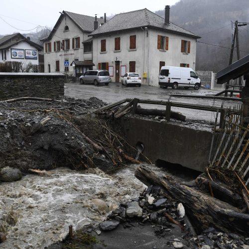 Europą nusiaubusi audra Friedrike  © Scanpix nuotr.