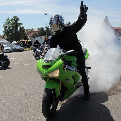 """Bike Show Millennium"" akimirkos"