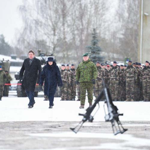 NATO batalionas Lietuvoje – jau metus