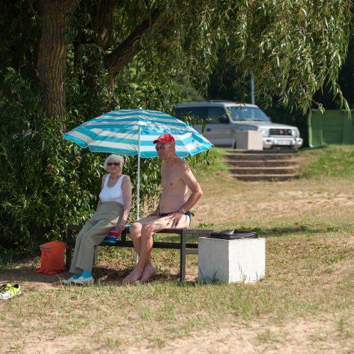 Kauno paplūdimiai savaitgalį  © Akvilės Snarskienės nuotr.