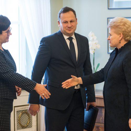 Susitikimas Prezidentūroje dėl kovos su korupcija