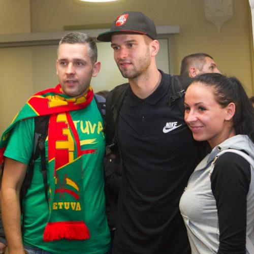 Krepšinio rinktinės sugrįžimas  © V. Skaraičio / BFL nuotr.