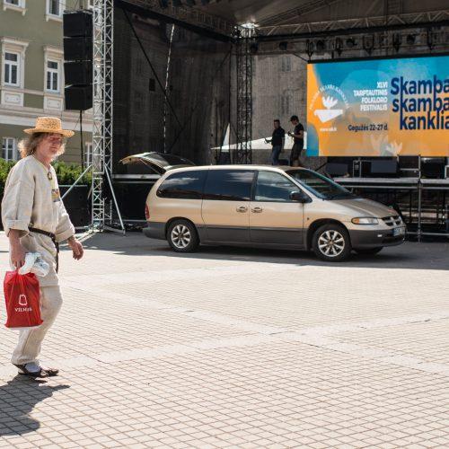 """Festivalio """"Skamba skamba kankliai"""" kūrybinės dirbtuvės  © V. Skaraičio / BFL nuotr."""