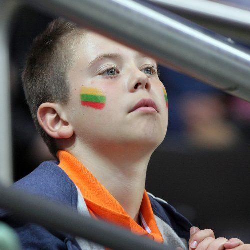 Ledo ritulys: Lietuva – Kroatija 3:0  © Evaldo Šemioto nuotr.