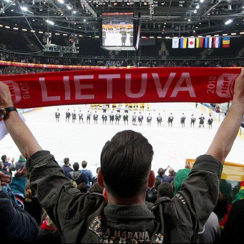 Ledo ritulys: Lietuva – Japonija 6:1  © Evaldo Šemioto nuotr.