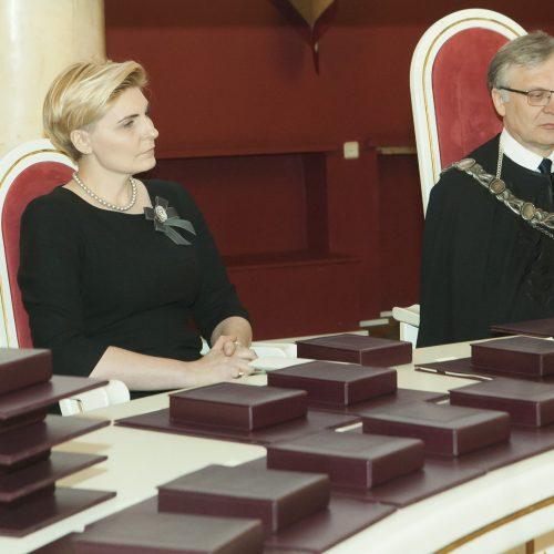 Atminties diplomų įteikimo iškilmės  © D. Labučio / ELTOS nuotr.