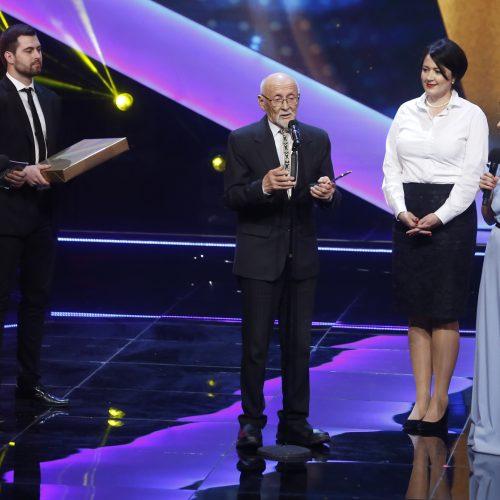 """Apdovanojimai """"Lietuvos garbė 2018""""  © M. Morkevičiaus / ELTOS nuotr."""