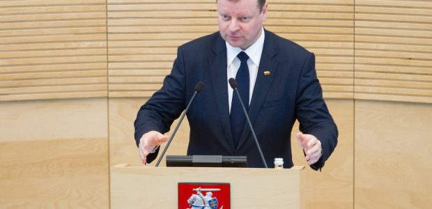 S. Skvernelis dėl reformų tikisi ir Seimo atsakomybės