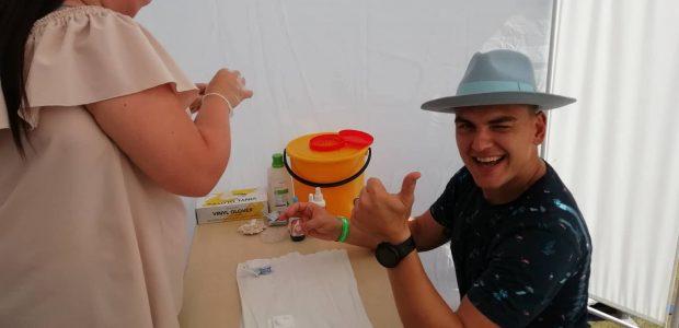 Festivalyje – nemokamos apsaugos priemonės ir ŽIV testai: susidomėjo ir Radistai