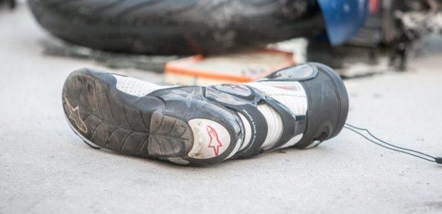 Prienų rajone žuvo į stulpą atsitrenkusio motociklo vairuotojas