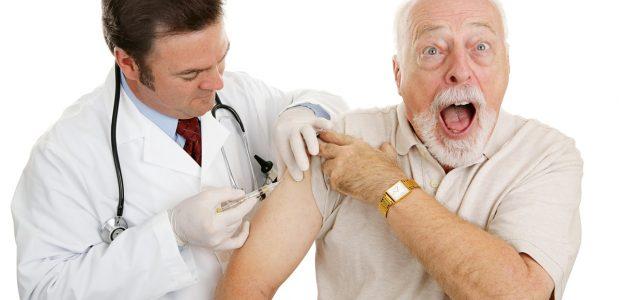 Slaugytoja siūlo pasirinkti – vakcina nuo gripo ar pietūs?