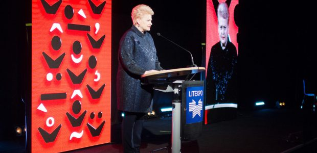 Prezidentė atidarė 18-ąją Vilniaus knygų mugę