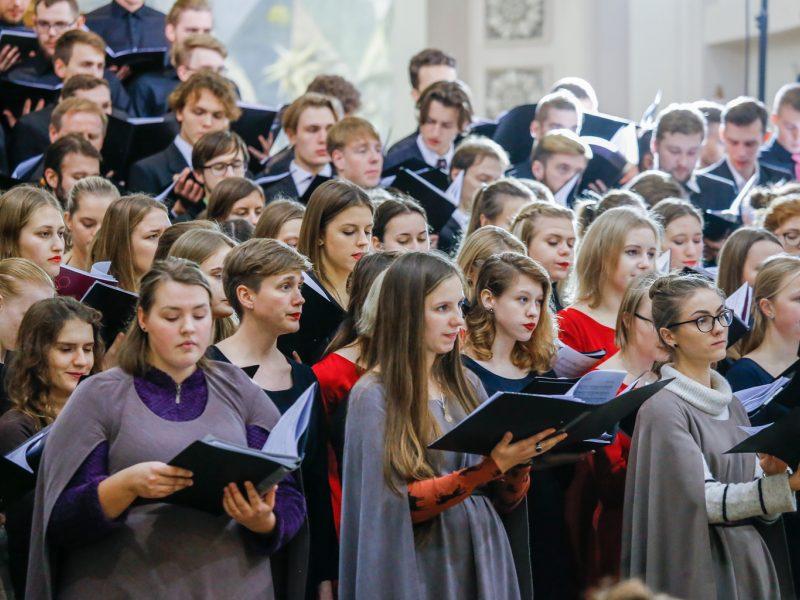 XX Lietuvos aukštųjų mokyklų studentų chprų festivalio baigiamasis koncertas