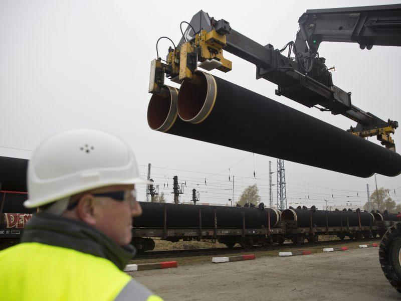 """Lietuva ir Danija žada spausti Briuselį dėl """"Nord Stream 2"""""""