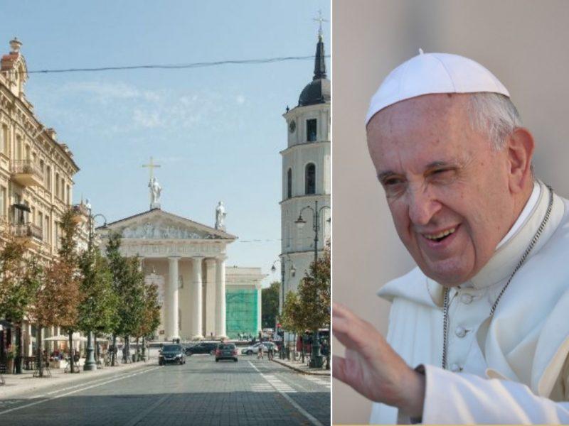 Popiežiaus kelionė per Vilnių: kokią sostinę išvys garbingasis svečias?