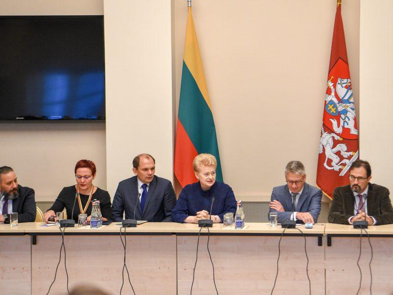 D. Grybauskaitė: žiniasklaidos ribojimas kelia pavojų šalių nacionaliniam saugumui