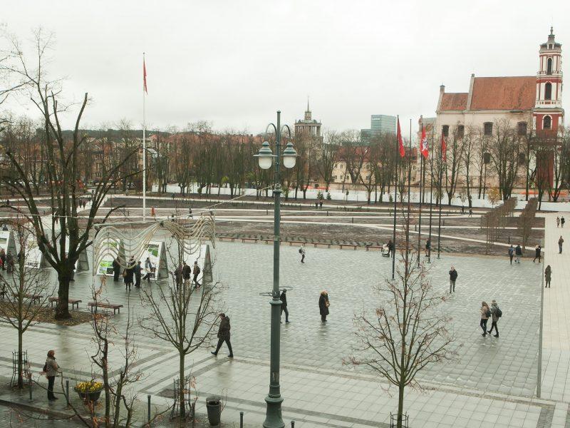 Prašo skirti baudą savivaldybei dėl pažeidimų tvarkant Lukiškių aikštę
