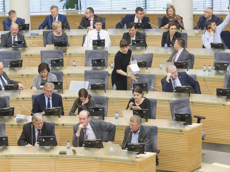 Ar Lietuvai jau gresia pirmalaikiai Seimo rinkimai?