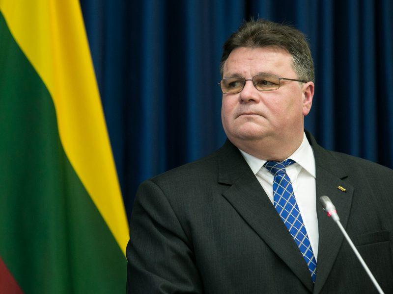 L. Linkevičius: kalbėsime su ta Rusijos dalimi, kuri nori kalbėtis