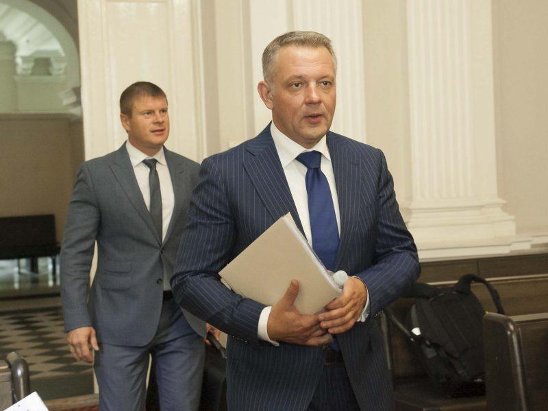 """MG Baltic"" korupcijos bylos posėdis"