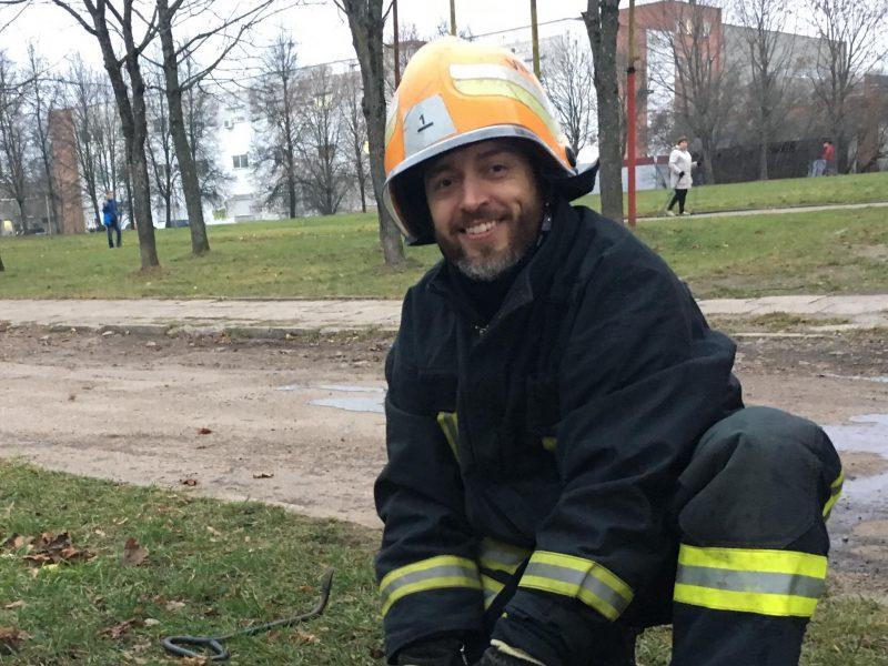 Ugniagesiams talkina jau pusantro tūkstančio ugniagesių savanorių