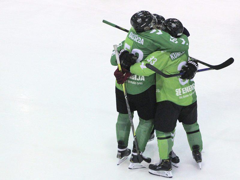 """NLRL: """"Kaunas Hockey"""" – """"Energija"""" 2:1"""