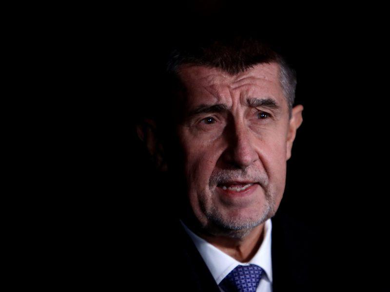 """Čekijos premjeras paneigė, kad jo šalis gamino """"Novičiok"""""""