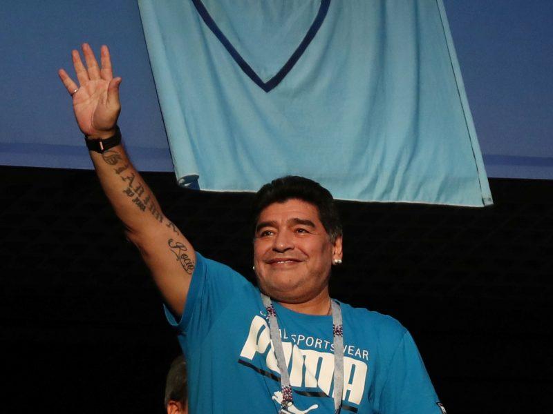 D. Maradona siūlo atlygį dėl melagingų pranešimų apie jo mirtį