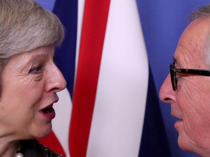 ES ir JK surengs daugiau derybų, bet daugiausiai ginčų keliančio klausimo nelies