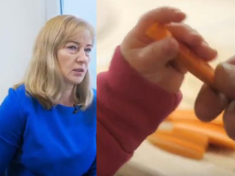 Dietologė: kai kurie vaikai nepažįsta tradicinių daržovių
