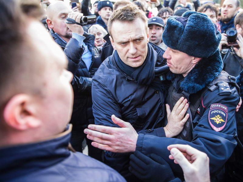 A. Navalnas pasmerkė Pasaulio futbolo čempionato organizavimą lydėjusią korupciją