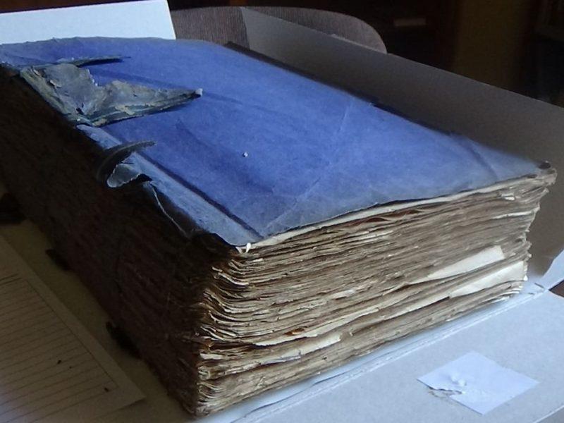 Vrublevskių bibliotekos fonduose – unikalūs žydų paveldo dokumentai