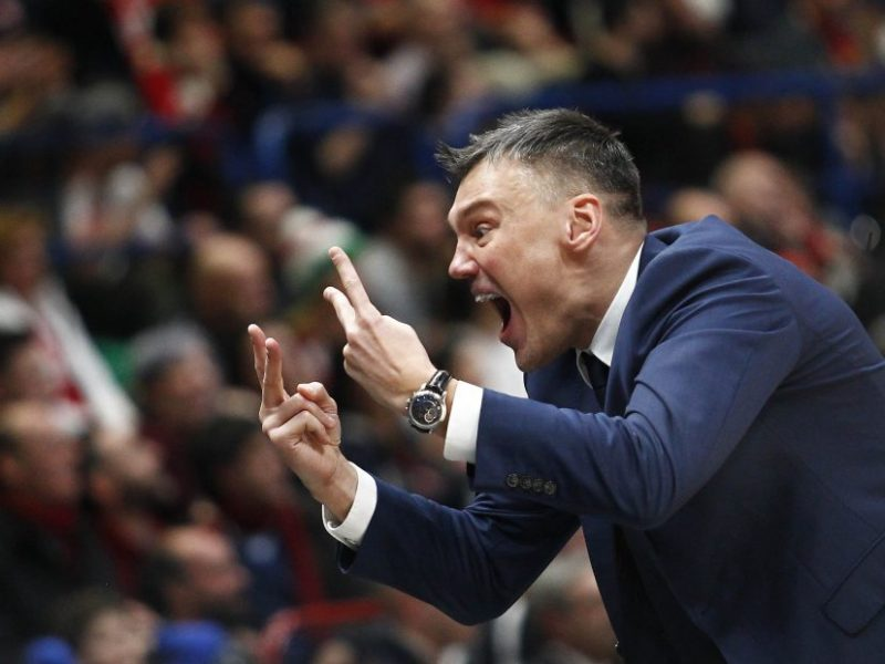 Š. Jasikevičius: mūsų tikslas Milane – nepraleisti daugiau nei 75 taškai