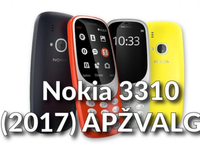 """Nesunaikinama """"Nokia 3310"""" grįžo: kokia ji dabar?"""