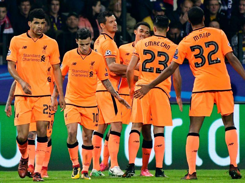 """Čempionų lygoje """"Liverpool"""" įmušė net septynis įvarčius išvykoje"""