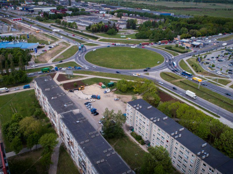 Dėliojami Baltijos prospekto ir Šilutės plento sankryžos scenarijai