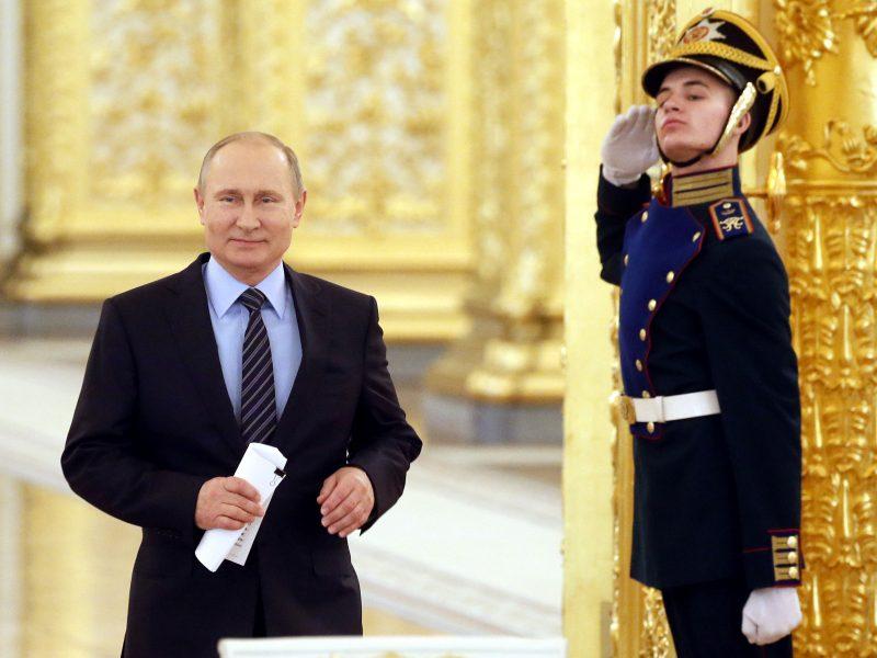 A. Navalnas: V. Putinas siekia būti imperatoriumi iki gyvos galvos