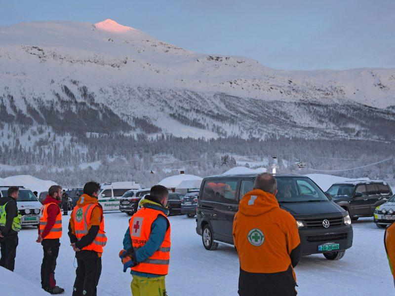 Norvegijoje rasti dar dviejų per laviną dingusių slidininkų kūnai