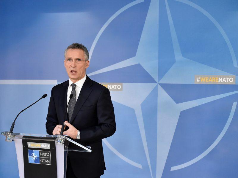 J. Stoltenbergas: NATO pajėgų stiprinimas proporcingas Rusijos veiksmams