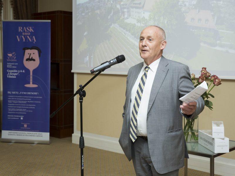 Ambasadoriai pristatė savo šalių vyno kultūrą