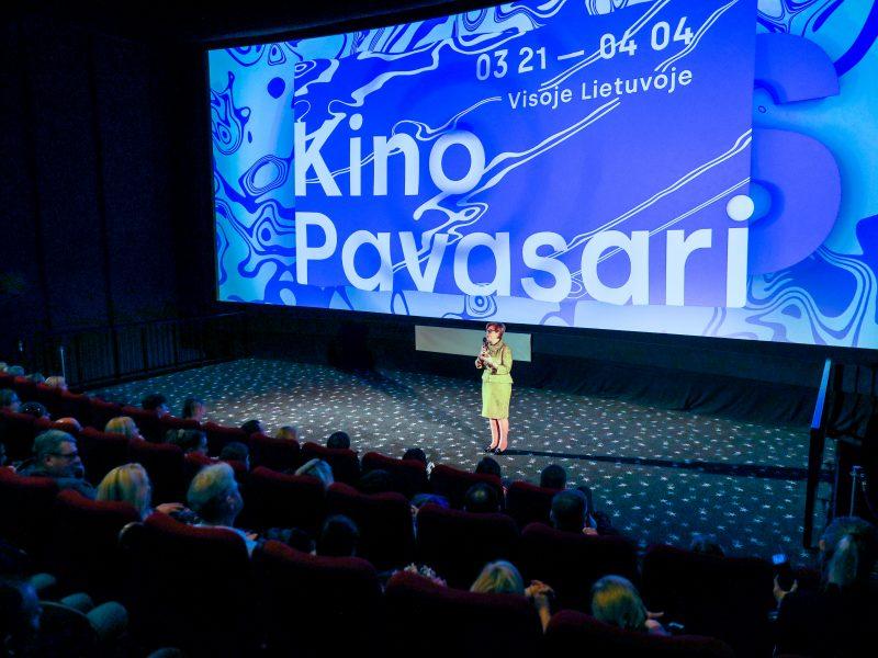 """Festivalio """"Kino pavasaris"""" atidarymo ceremonija Kaune"""