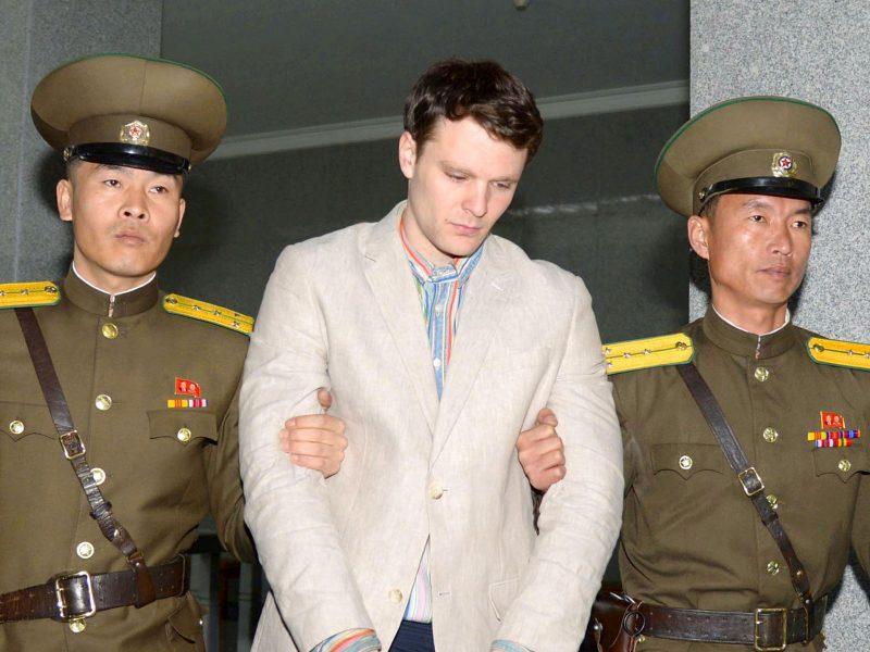 Mirė Šiaurės Korėjoje kalintas JAV studentas