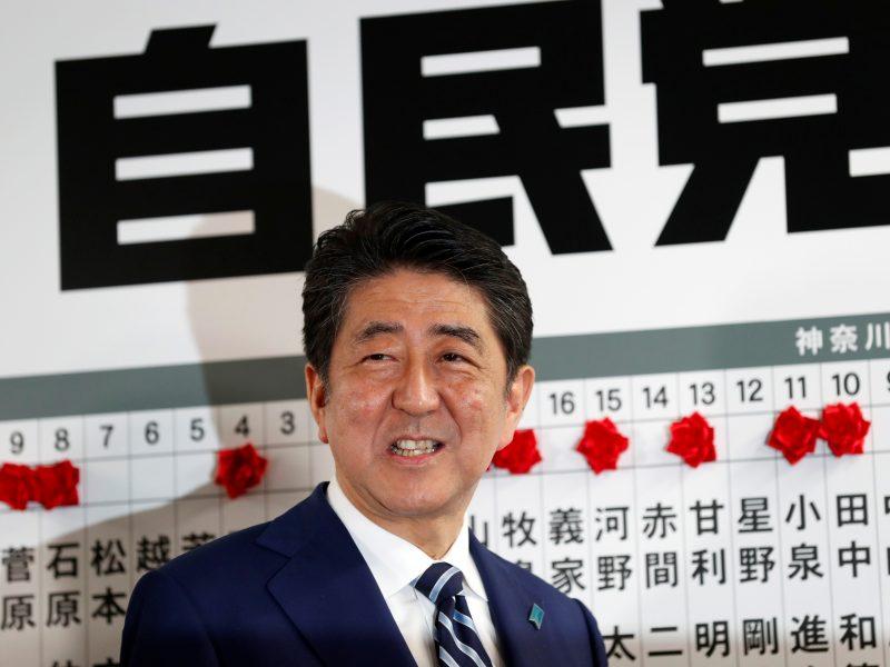 Japonijos premjeras pasiruošęs susitikti su Šiaurės Korėjos lyderiu