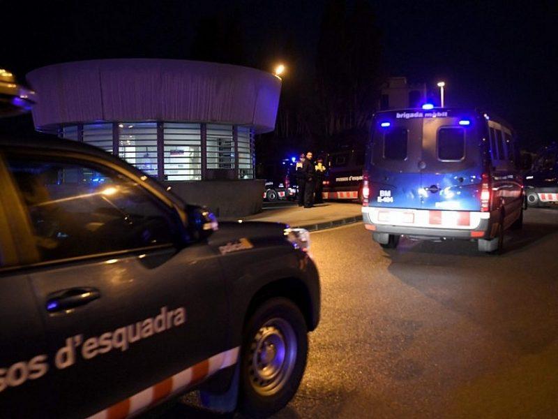 Prie Barselonos sudužus traukiniui žuvo vienas žmogus, 8 sužeisti