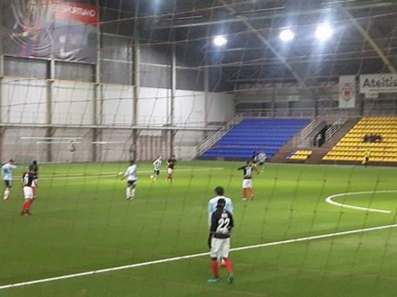 """""""Trakų"""" futbolininkai nugalėjo """"Jonavos"""" komandą"""