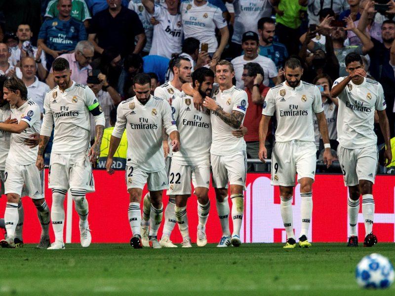 """""""Real""""  nugalėjo """"AS Roma"""" ekipą, """"Juventus"""" šventė pergalę Valensijoje"""