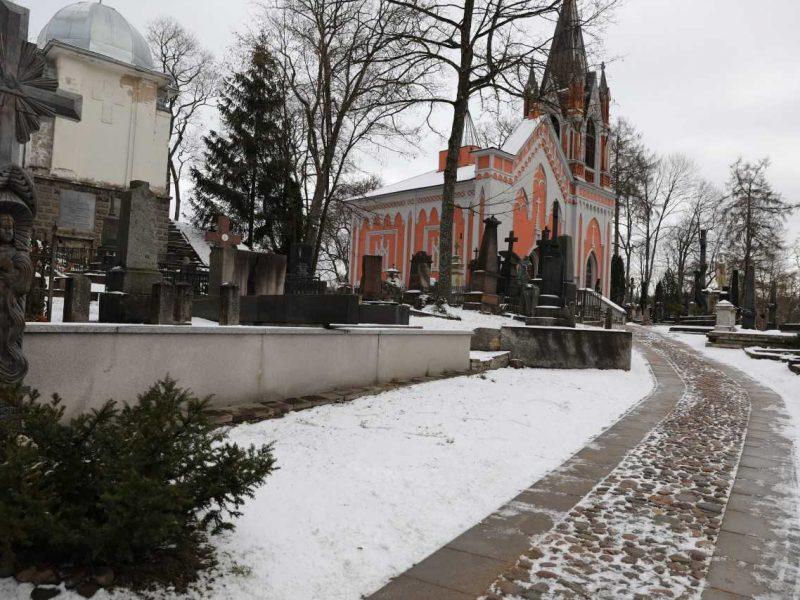 Paskelbtas istorinių Rasų kapinių Vilniuje sutvarkymo darbų konkursas