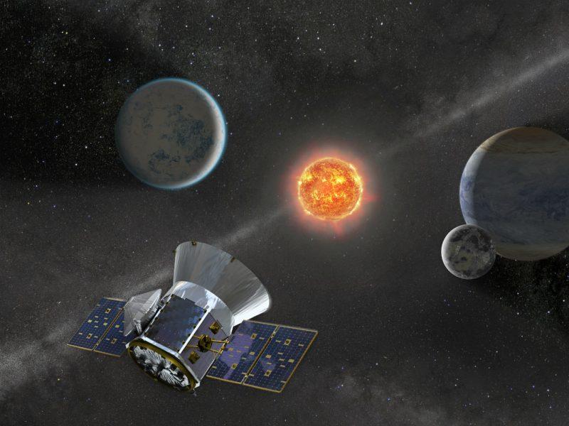 Naujas NASA aparatas ieškos artimesnių, į Žemę panašių pasaulių