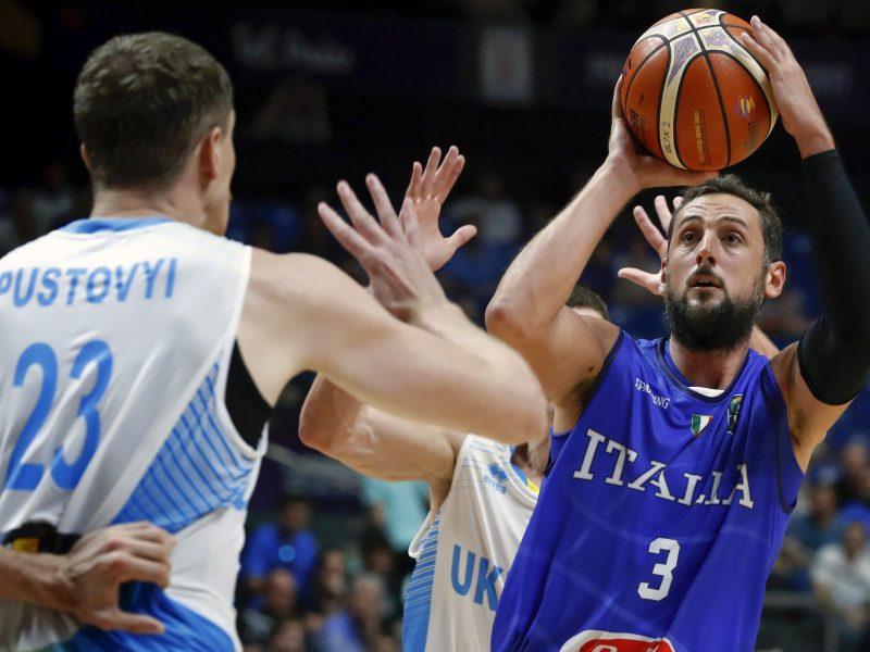 Italijos krepšininkai Europos čempionate įveikė ukrainiečius